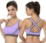 Lookatool Women' Padded Bra Top Athletic Vet Gym Fitneport Yogatretch Tank