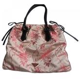 Prada Pink Silk Handbag