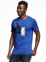 Old Navy Graphic Crew-Neck Tee for Men