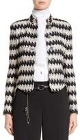 St. John Women's Advik Tweed Knit Jacket