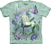 The Mountain Unicorn and Butterflies T-Shirt