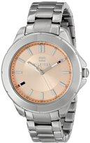 Tommy Hilfiger Women's 1781415 Analog Display Quartz Silver Watch