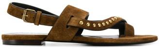 Saint Laurent Gia studded sandals