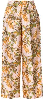 La DoubleJ Polinesia ruffle trousers