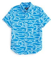 Vineyard Vines Toddler Boy's Brushed Marlin Whale Shirt