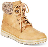 White Mountain Cliffs by Kansas Lace-Up Booties