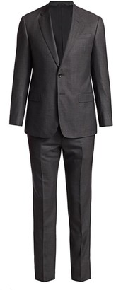 Giorgio Armani Pin Dot Virgin Wool Suit