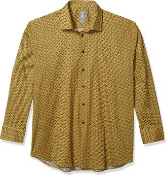 Stacy Adams Men's Big & Tall Big and Tall Contemporary Modern Fit Dress Shirt