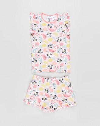 Cotton On Stacey Short Sleeve Flutter Pyjama Set - Kids