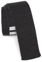 Thom Browne Men's 4-Bar Wool Knit Tie