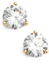 Nordstrom Women's Precious Metal Plated 2Ct Tw Cubic Zirconia Earrings