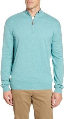 johnnie-O Bailey Quarter Zip Sweater