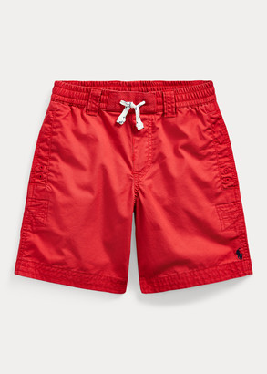 Ralph Lauren Cotton Twill Drawstring Short