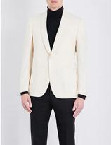 Lardini Tailored-fit shawl lapel jacket