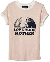 Tiny Whales Love Your Mother T-Shirt (Toddler/Little Kids/Big Kids) (Tri Blush) Girl's Clothing