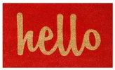 Home & More Hello Doormat Rug