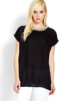 Forever 21 Dazzling Chiffon Top