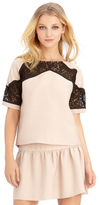 Rachel Roy Lace Combo Top