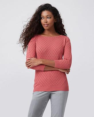 Le Château Knit Boat Neck Sweater