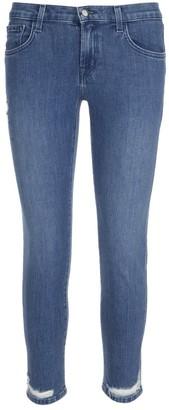 J Brand Destroyed Detail Jeans