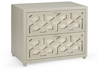 Chelsea House Lattice 2 Drawer Accent Chest