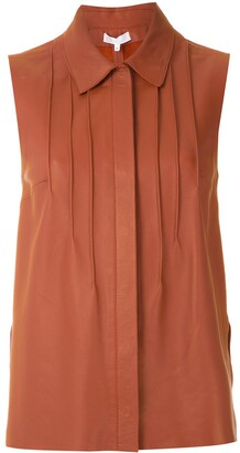 Nk Ruby pleated front shirt
