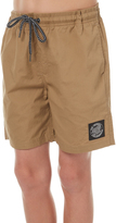 Santa Cruz Kids Boys Cruzier Solid Short Natural