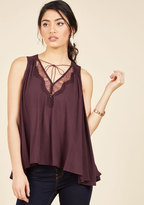 In It for the Accents Sleeveless Top in S