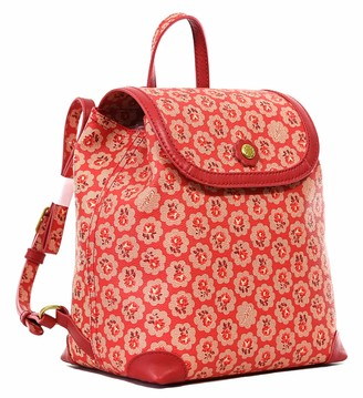 Cath Kidston Backpack Rucksack Freston Rose in Red Oilcloth