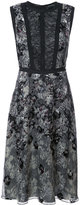 Yigal Azrouel python print burnout dress