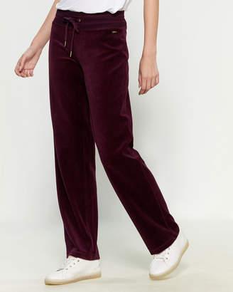 Calvin Klein Velour Wide Leg Pants