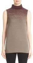 Lafayette 148 New York Women's Ombre Stitch Sleeveless Sweater