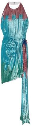 Markarian Marlene Ombre Sequin-Embellished Mini Dress