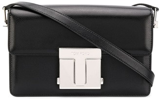 Tom Ford Logo-Plaque Shoulder Bag