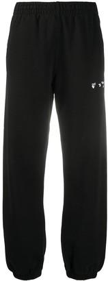 Off-White Ow Logo Slim Sweatpant Black White