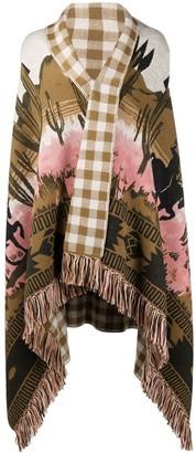 Alanui Printed Blanket-Style Scarf