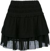 Etoile Isabel Marant ruffled layered skirt - women - Cotton/Viscose - 36