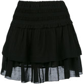 Etoile Isabel Marant ruffled layered skirt