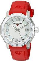 Swiss Legend Women's 16191SM-02-RDS Blue Geneve Analog Display Swiss Quartz Red Watch