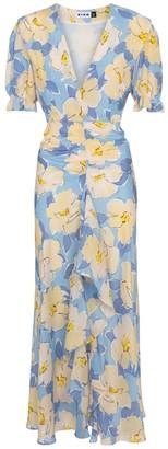 Rixo Ariel floral maxi dress