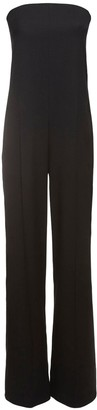 Stella McCartney Straplesstailored Wool Jumpsuit