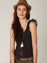 Free People FP-1 Merrie's Lacey Top