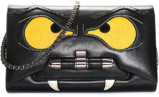 Kara Ross Black Leather Vampire Bag