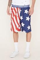 Forever 21 FOREVER 21+ Reason Stars and Stripes Shorts
