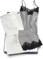 Ralph Lauren Satin Robe & Short Sleep Set