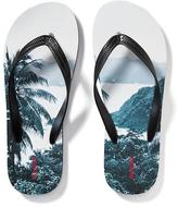 Old Navy Graphic Flip-Flops for Men