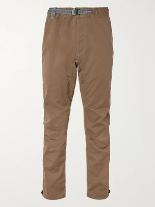 and wander Tapered Woven Trousers - Men - Green