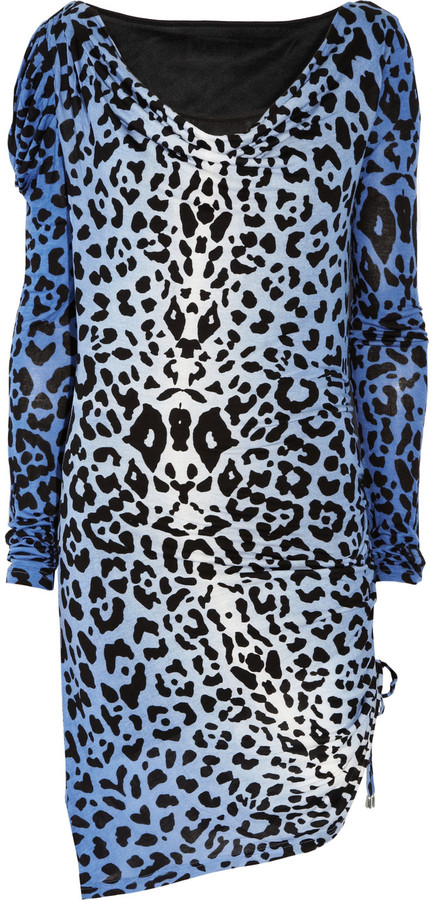 ALICE by Temperley Renaissance leopard-print jersey dress