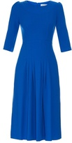 Goat Camelot wool-crepe dress