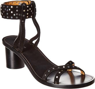 Isabel Marant Joakee Ankle Strap Suede Sandal